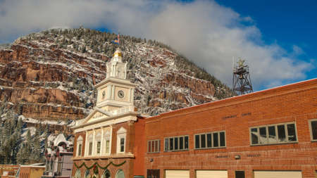 ouray: Walsh library in Ouray, Colorado.