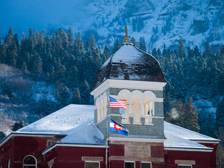 Ouray County Court House in Ouray, Colorado.