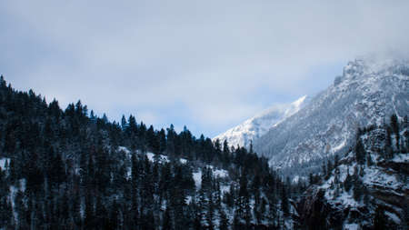 ouray: A view of the mountains in Ouray area, Colorado.
