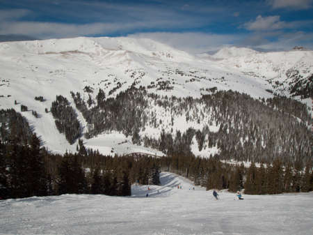 loveland: Winter peaks of LOveland Basin, Colorado. Stock Photo