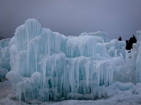 Ice Castles of Silverthorne, Colorado. Stock Photo - 12048198