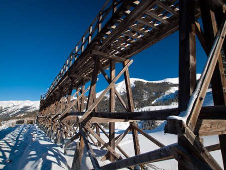 yankee: Red mountain and Yankee Girl Mine near Ouray, Colorado. Editorial