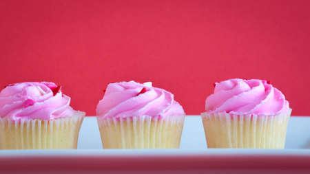 Valentines day cupcakes. photo