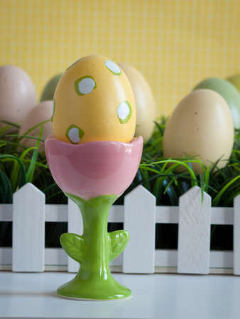 Easter decorations. photo