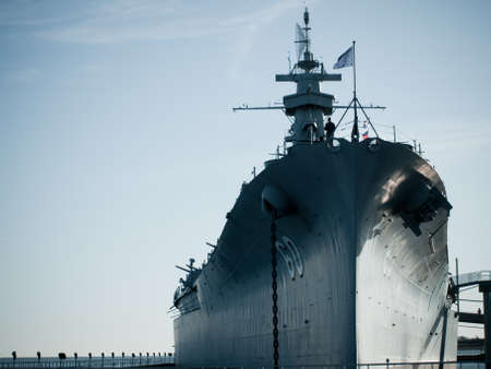 Battleship of US Navy at the museum in Mobile, AL. Stock Photo - 12412119
