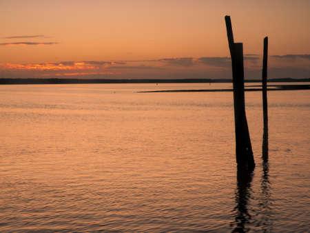 Sunrise over Everglades from East side of Chokoloskee Island. photo