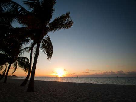 Beautiful sunrise at Key West, Florida.
