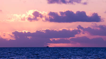 winter sunrise: Beautiful sunrise at Key West, Florida.