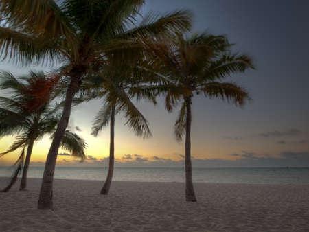 Beautiful sunrise at Key West, Florida. photo