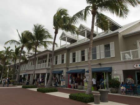 Mallory Square on Key West, Florida. Stock Photo - 12257288