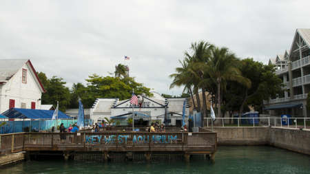 Mallory Square on Key West, Florida.