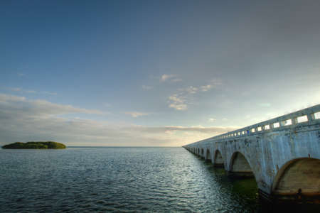 mile: The Seven Mile Bridge is a famous bridge in the Florida Keys.