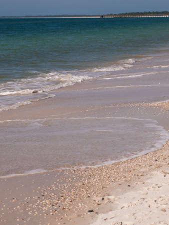 mexico beach: on the Mexico Beach, Florida.