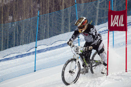 Winter TEVA Mointain Games 2012 in Vail, Colorado.