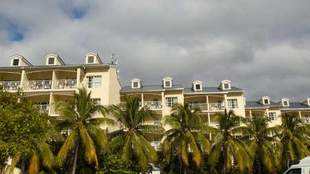 Beach hotel on Key West, Florida.