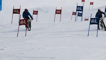 Winter TEVA Mointain Games 2012 in Vail, Colorado.