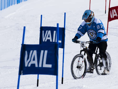 Winter TEVA Mointain Games 2012 in Vail, Colorado. Stock Photo - 12444687