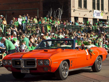 2012 St Patrick's Day Parade on Blake Street in Denver, Colorado. Stock Photo - 12768283