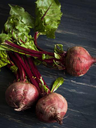 """Ingrediënten voor het koken Russische en Oekraïense rode soep """"borsjt""""."""