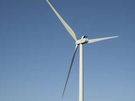 Wind turbines farm in Limon, Colorado. Stock Photo - 13349943