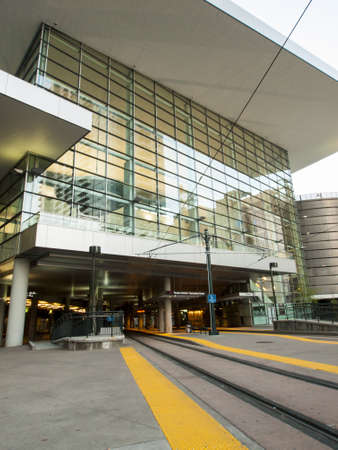 Colorado Convention Center at sunrise. Stock Photo - 13365479