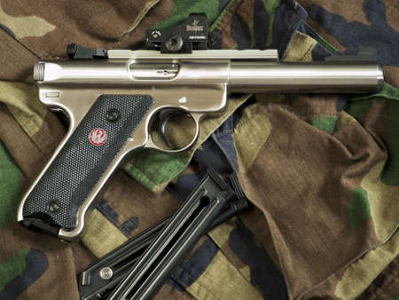 The Ruger MK III is a .22 long rifle semi-automatic pistol manufactured by Sturm, Ruger & Company. It is the successor to the Ruger MK II. Editorial