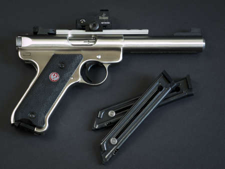 The Ruger MK III is a .22 long rifle semi-automatic pistol manufactured by Sturm, Ruger & Company. It is the successor to the Ruger MK II.