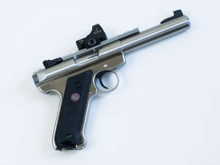 successor: The Ruger MK III is a .22 long rifle semi-automatic pistol manufactured by Sturm, Ruger & Company. It is the successor to the Ruger MK II. Editorial