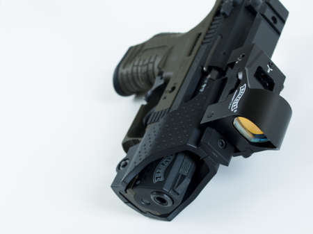 carl: Walther P22 is a semi-automatic pistol manufactured by Carl Walther GmbH Sportwaffen. Editorial