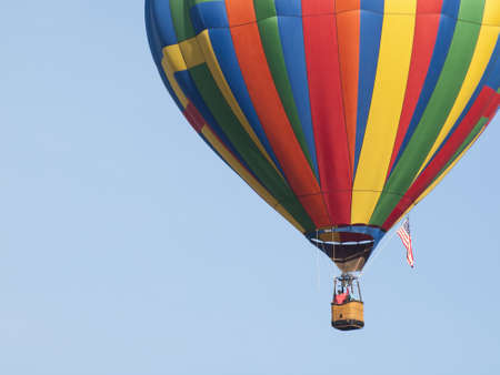 2012 Erie Town Fair and Balloon Festival. The balloon event is part of a day long street fair in the town of Erie. photo