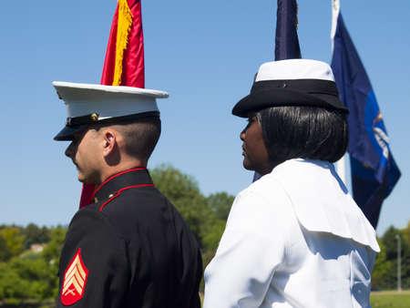 fort logan national cemetery: Memorial Day weekend at Fort Logan National Cemetery.