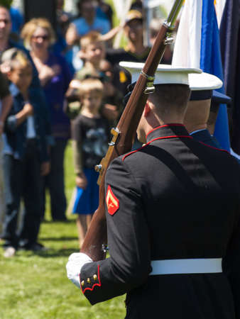 fort logan colorado: Memorial Day weekend at Fort Logan National Cemetery.