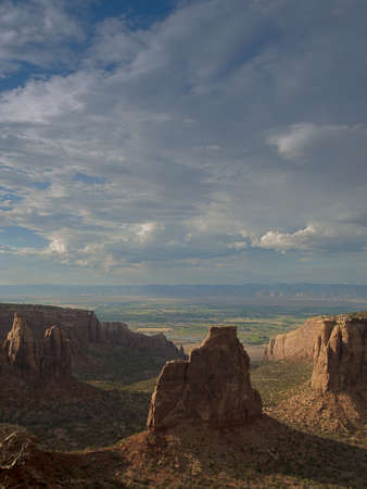 Colorado National Monument is a part of the National Park Service near the city of Grand Junction, Colorado.  Stock Photo - 14374623