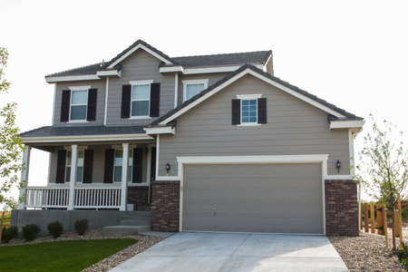 house: Huis in suburbane ontwikkeling van Denver, Colorado.