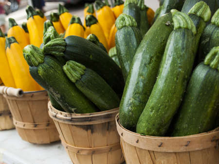 squash: Fresh organic food at the local farmers market. Farmers markets are a traditional way of selling agricultural products.