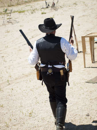 2012 annual match of Colorado Shaketails Cowboy Action Shooting SASS Club photo