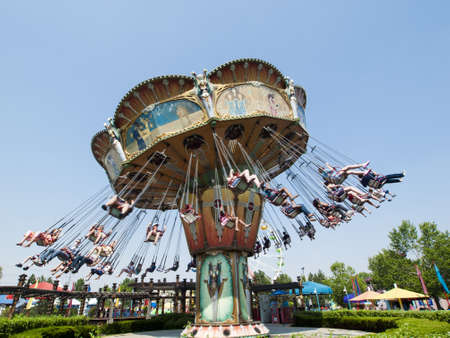 Elitch Gardens Theme Park, locally known as