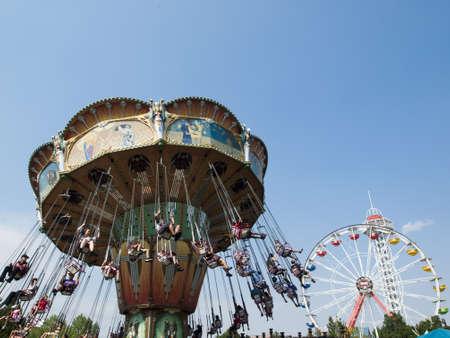 Elitch Gardens Theme Park, locally known as