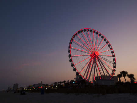 Myrtle Beach is a coastal city on the east coast of the United States in Horry County, South Carolina. Stock Photo - 14818694