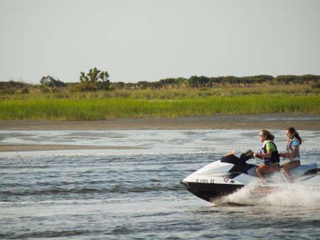 watercraft: Myrtle Beach is a coastal city on the east coast of the United States in Horry County, South Carolina.