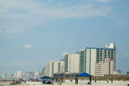 Myrtle Beach is a coastal city on the east coast of the United States in Horry County, South Carolina. Stock Photo - 14818646