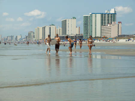 Myrtle Beach is a coastal city on the east coast of the United States in Horry County, South Carolina.