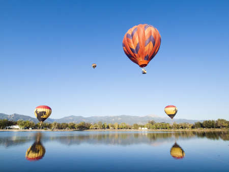 The 36th annual Colorado Balloon Classic and Colorados largest Air Show. Stock Photo