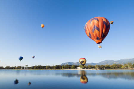The 36th annual Colorado Balloon Classic and Colorados largest Air Show. Editorial