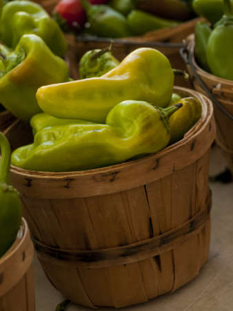 piperaceae: Fresh peppers at the local farmers market.