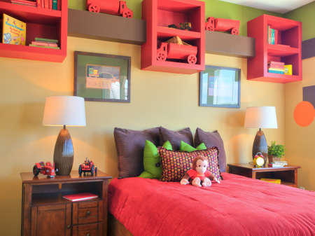 Residential interior of modern house. Stock Photo - 15179919