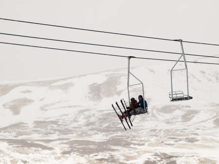 loveland: Beginning of 2012 ski season at Loveland Ski Area, Colorado.