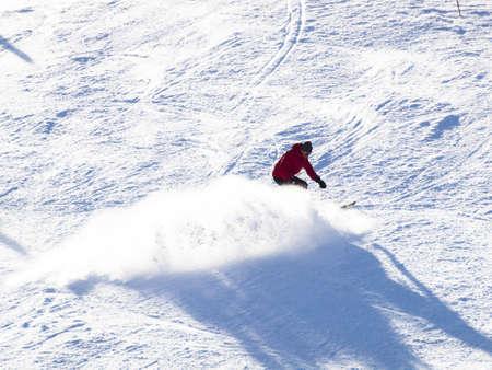 loveland pass: People enjoying 2012 ski seson in Loveland Basin, Colorado.