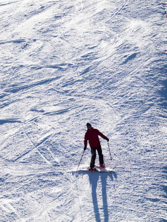 seson: People enjoying 2012 ski seson in Loveland Basin, Colorado.