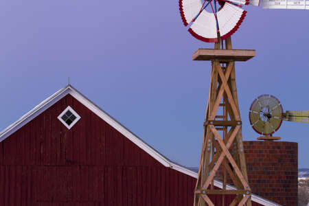 Old Red Barn at the 17mile House Farm Park, Colorado. Stock Photo - 16993917